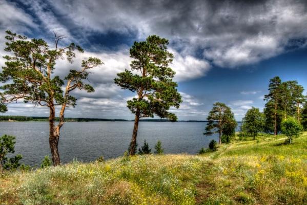 Такая красота на озере Иртяш, мыс Козий