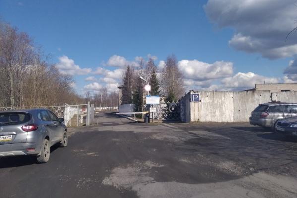 Вход в СИЗО, где содержится Андрей Боровиков