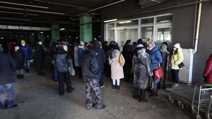 Из торгово-развлекательного комплекса в Челябинске эвакуировали 890 человек