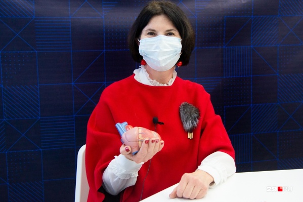 Ольга Голубева отметила, что люди, перенесшие вирусную пневмонию, стали обращаться к ней с тахикардиями<br>