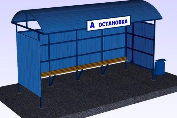 Такие павильоны появятся в Кировском, Октябрьском и Калининском районах