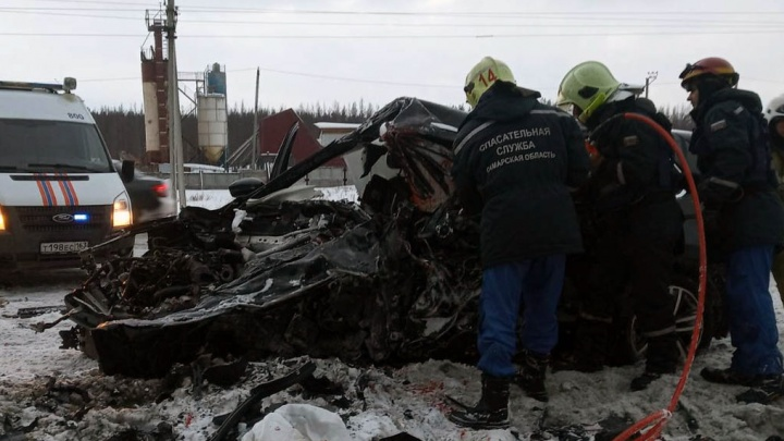 Все — из Курумоча: публикуем подробности о погибших в ДТП под Самарой