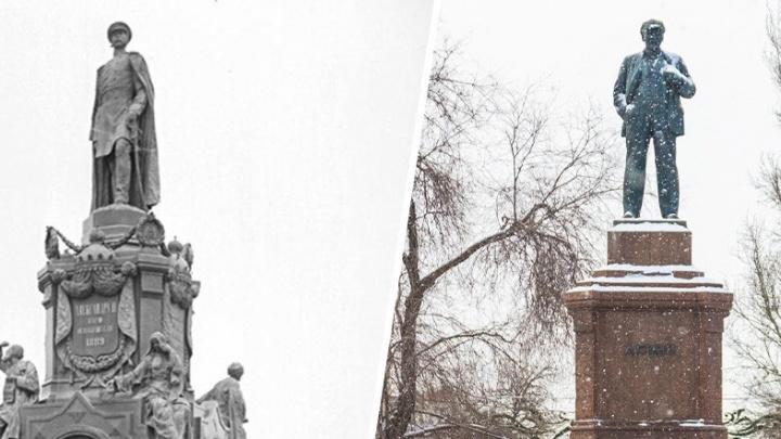 Ленина подвинут? В Самаре вновь хотят поставить памятник Александру II