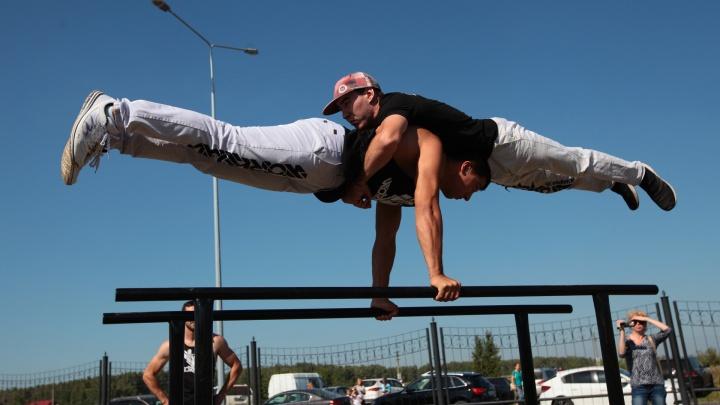 В Сургуте по инициативе жителей появится площадка для соревнований по воркауту