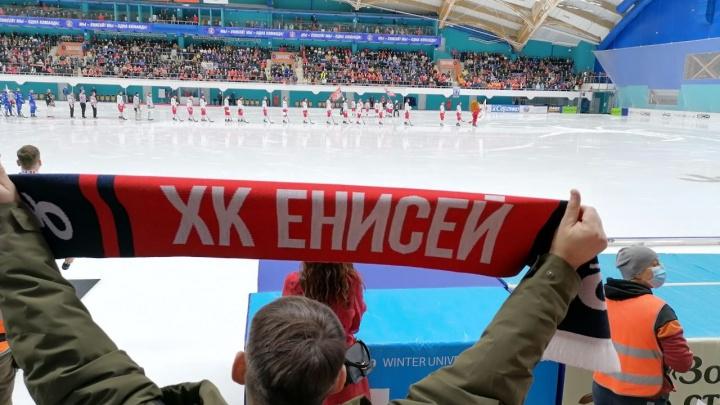 «Енисей» стал чемпионом России по бенди, обыграв в домашнем финале московское «Динамо»
