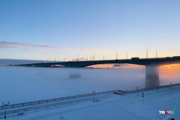 Первые морозы в 2021 году