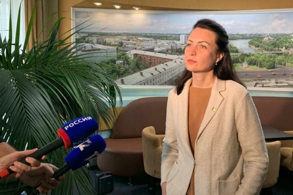 Мэр Фадина уже рассказала, чем будет заниматься в Госдуме