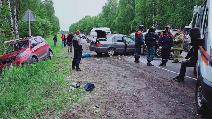 Смертельное ДТП в Борском районе: пострадавшие дети находятся в реанимации