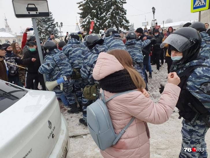 Полиция говорила о незаконности митинга
