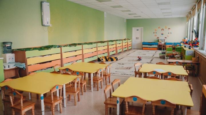 Карантин из-за ковида действует в 22 тюменских детсадах