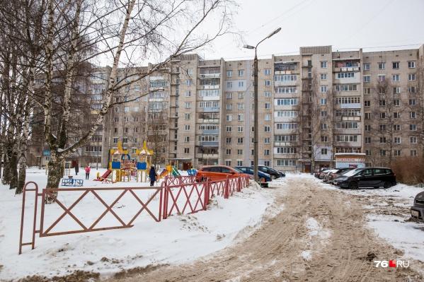 Дворы в Ярославле в большинстве своем разбиты