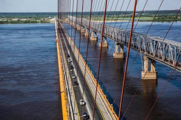 """Длина нового моста будет <nobr class=""""_"""">45 километров</nobr>, непосредственно надводная часть протянется на две тысячи метров"""