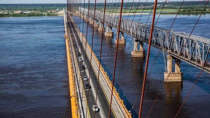Раньше срока: строительство нового автомобильного моста через Обь начнется в этом году