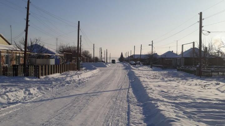 В южноуральском селе в мороз без газа и отопления остались 78 частных домов