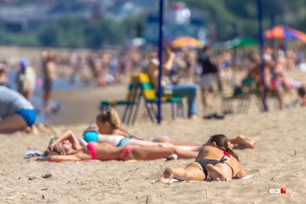 В Самаре не только самые красивые девушки, но и самые лучшие пляжи. Не так ли?