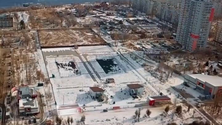 В Волгограде парк культуры выставили на продажу под ТРК или жилой комплекс