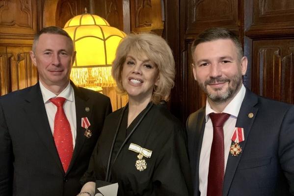 Оперная звезда и четверо жителей Новосибирска получили орден от главы императорского дома