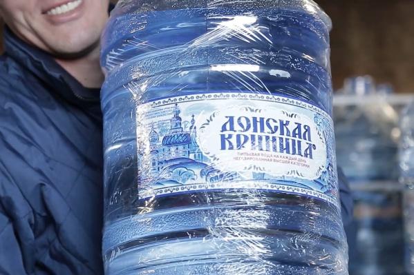 Компания добывает воду из артезианской скважины в Аксае