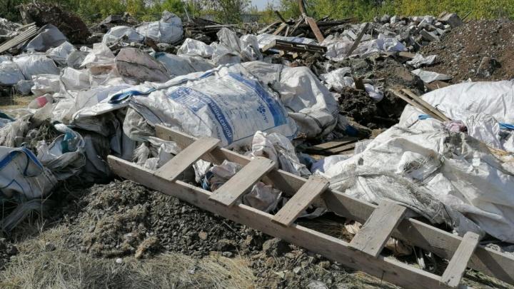Горы стройматериалов и туш животных: в Самаре нашли незаконную свалку