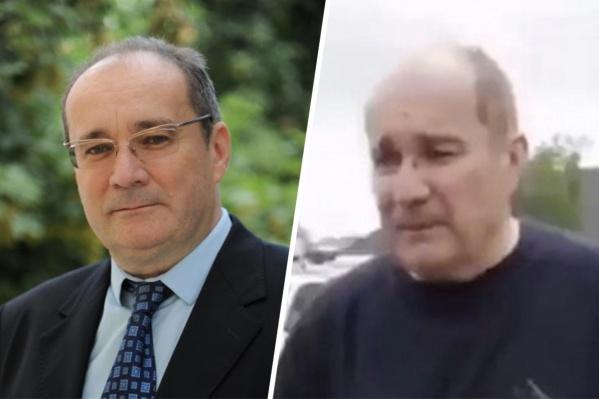 Депутат — слева, а справа — человек, похожий на него