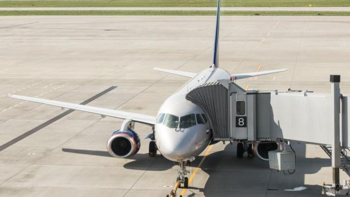 В Ростове экстренно сел самолет из Крыма