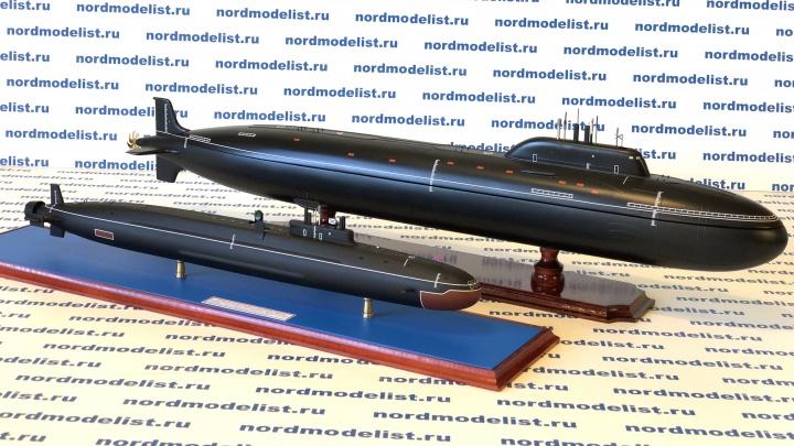 Хобби папы превратилось в бизнес дочери: в Северодвинске более 20 лет делают макеты подводных лодок