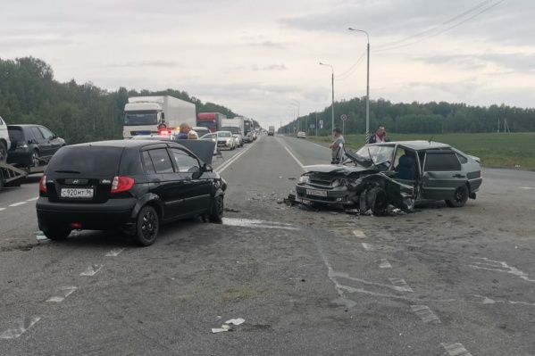 Аварию спровоцировал водитель иномарки