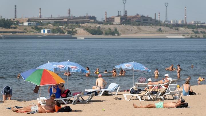 Не лучшее время для пляжа: смотрим погоду в Волгограде на ближайшие выходные