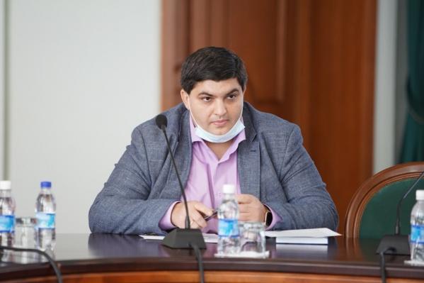 Самед Юсубов, депутат горсоветаКрасноярска