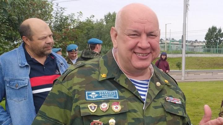 В автокатастрофе погиб председатель Союза десантников края Александр Гуляков