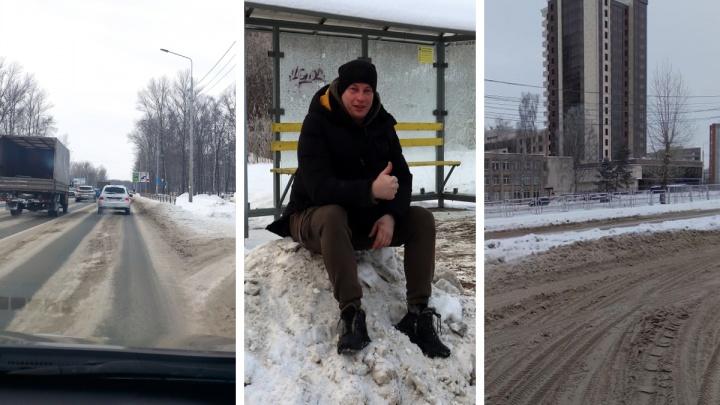 Признайтесь, вы не умеете? Кто и как чистит зимние дороги Ярославля. И почему не получается