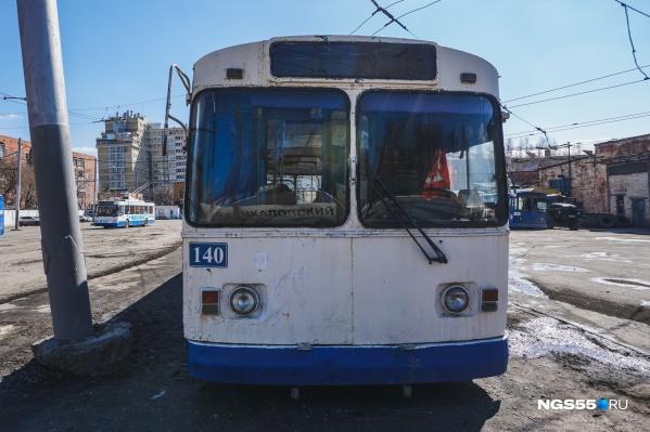 Департамент транспорта планировал отказаться от троллейбусов старше 15 лет