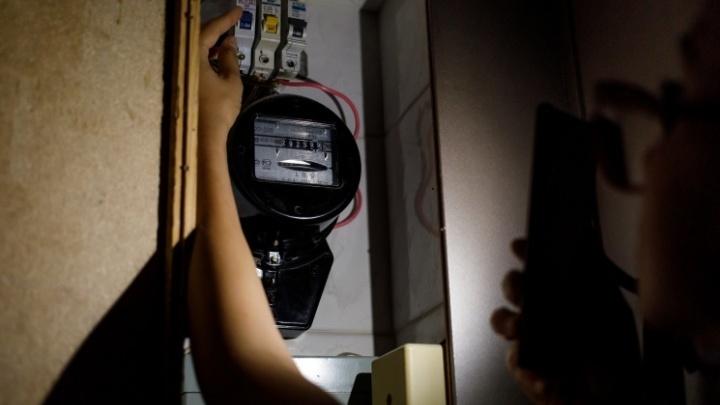 В Краснодаре без света остались почти 6,5 тысячи человек