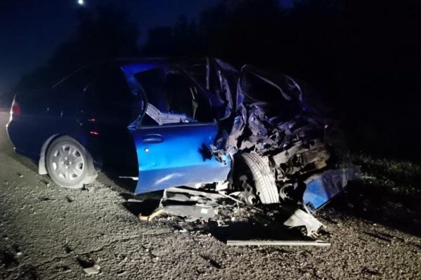 Авария случилась вечером 24 августа