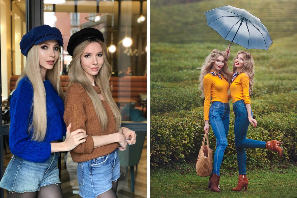 Сестры считают, что их характер так же идентичен, как и внешность