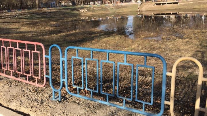Жители Самары не стали голосовать за благоустройство парка «Молодежный»