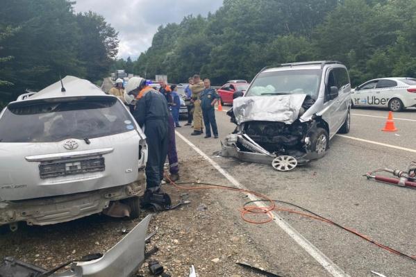 Виновником аварии стал водитель легковушки