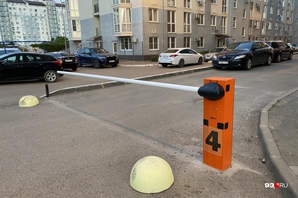 Закрытый выезд на улицу Круговую