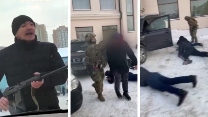 Директора рынка на Шахтеров арестовали за конфликт с применением оружия