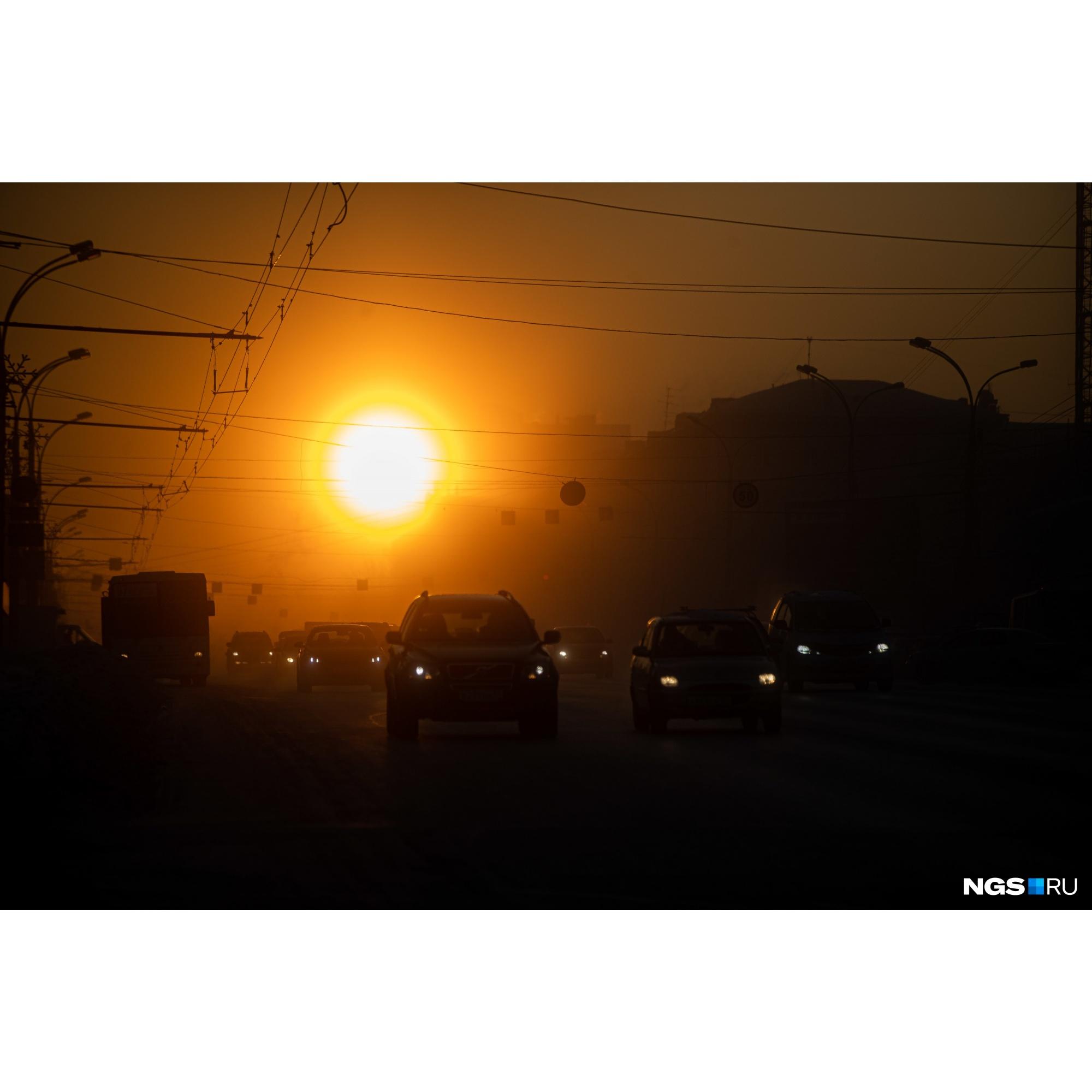 Уже второй день подряд в Новосибирской области держатся экстремальные морозы