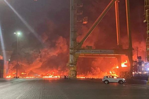 Кадры взрыва и его последствий публикуют в соцсетях