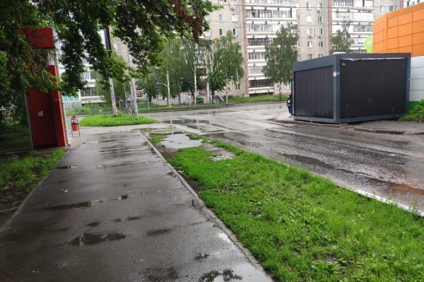 ДТП произошло на выезде из дворов на Академика Бардина