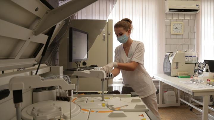 В свердловских больницах создали мегабазу всех анализов