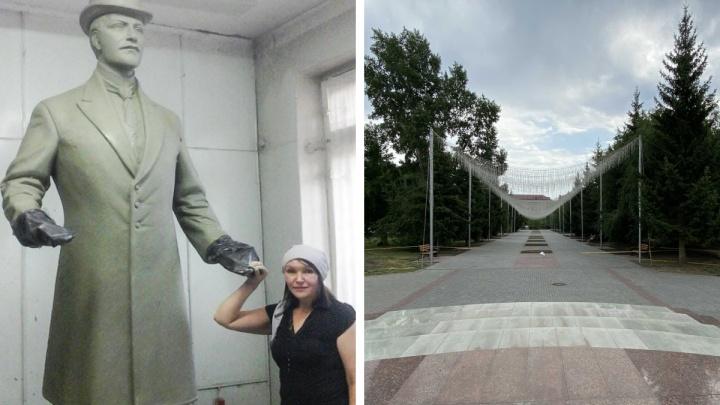 В горсаду Кургана установят памятник Сергею Балакшину и создадут сад сирени