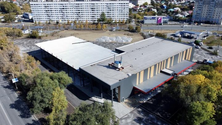 Автовокзал, строительство которого скрывали чиновники, откроют в Челябинске до конца года