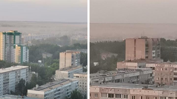 Новосибирск накрыла дымка: что происходит