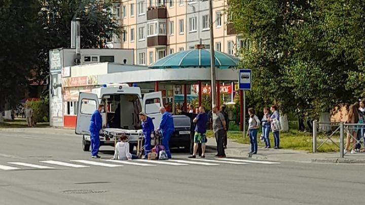 Жительницу Северодвинска сбил автомобиль, когда она переходила дорогу по «зебре»