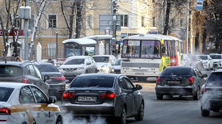 В дептрансе объяснили резкое уменьшение парковочных мест в Нижнем Новгороде