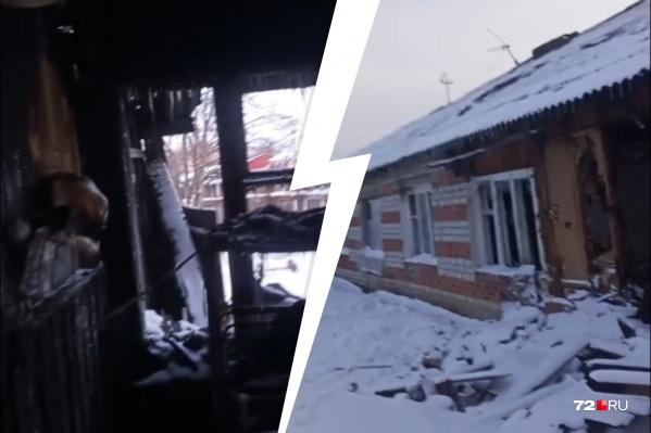 Пожар случился под Новый год. С тех пор люди мучаются с жильем. И кажется, их проблема не решится ближайшие несколько лет