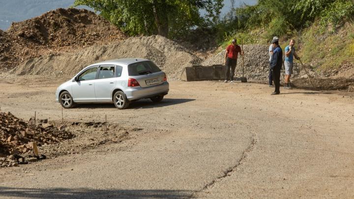 Власти назвали новую дату окончания работ на дороге на Николаевскую сопку